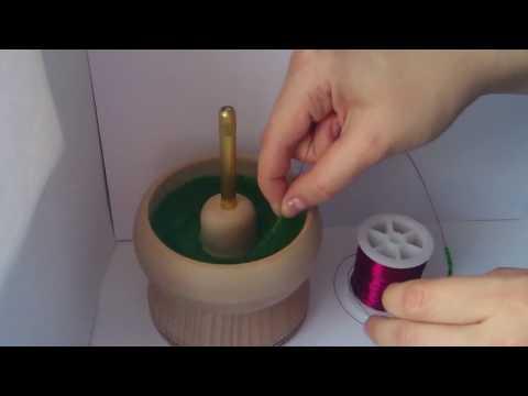 Как сделать спиннер из бисера 106