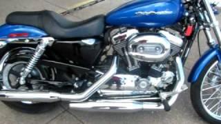 5. 2007 Harley Davidson Sportster 1200 Custom, EFI Rubber Mounted