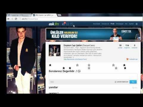 Ask.fm Beğeni Ve Soru Kasma .! 04.Eylül.2012 Yapımcı : Dursun Can
