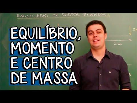 momento - Essa aula faz parte do módulo de Equilíbrio, momento e centro de massa. Para ver o próximo vídeo com a primeira Questão, vá em http://bit.ly/1peqSXh. Nesse m...