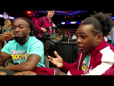 WWE's The New Day's best interview.....EVER! Live from Wrestlemania