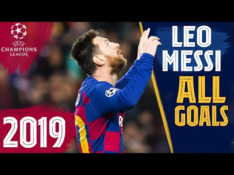 EVERY Messi goal in the CHAMPIONS LEAGUE (2019)