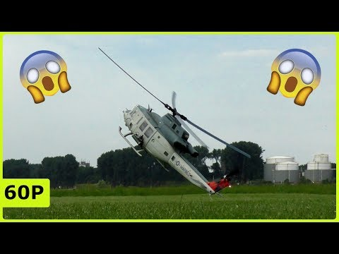 Heliday Duisburg 2018 - Almost Crash with a beautiful Huey Bell UH-1Y from Frank Wedekind