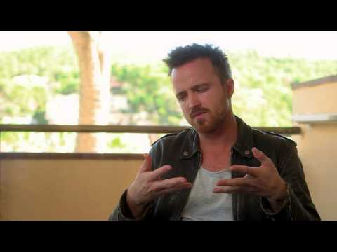 A LONG WAY DOWN | Interview | Aaron Paul über seine Figur (english)