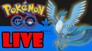 Watch me play Pokémon GO!
