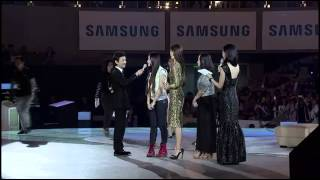 Video 140418 Kim Soo Hyun & Jun Ji-hyun@Samsung S5 event [金秀贤全智贤三星见面会智贤选出最佳求爱舞] MP3, 3GP, MP4, WEBM, AVI, FLV Maret 2018
