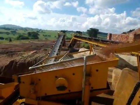 Uganda 100TPH coltan ore mine site processing plant