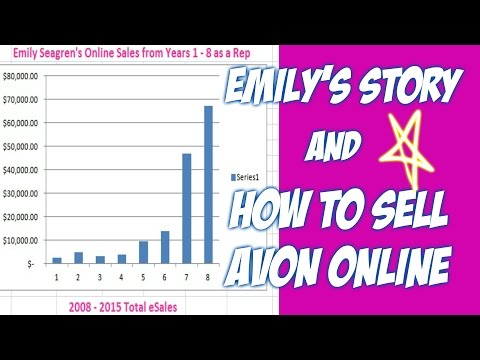 Sell Avon Online – How to Sell Avon Online