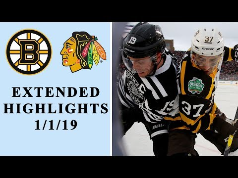 Video: NHL Winter Classic 2019: Boston Bruins vs. Chicago Blackhawks | EXTENDED HIGHLIGHTS | NHL on NBC