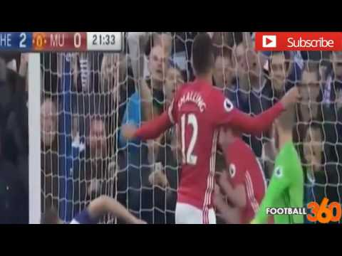 Chelsea vs Manchester United 4-0 - All Goals & Highlights - EPL 23 10 2016 HD