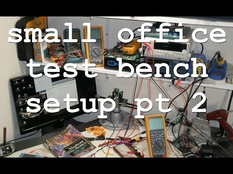 ACF 002: Office electronic test bench Part 2 lab tour and future projects