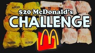 Video MCDONALD'S $20 VALUE MENU CHALLENGE!! MP3, 3GP, MP4, WEBM, AVI, FLV Januari 2018