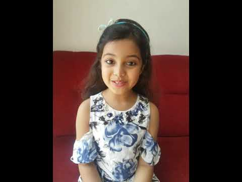 8 years old Wonder Girl Ayat Shaikh's interview.. mindblowing answers
