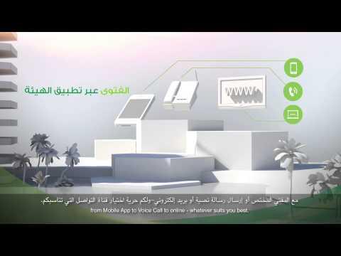 خدمات الهيئة الإلكترونية لعام 2013