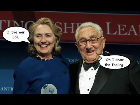 Hillary Clinton is Courting War Criminal Henry Kissinger's Endorsement