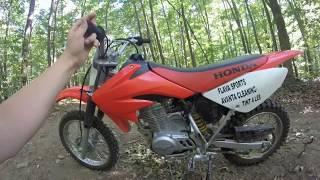 8. Honda CRF 80F Dirtbike Review