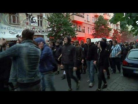 Βερολίνο: Τραυματίες και συλλήψεις σε συγκρούσεις αριστεριστών-αστυνομίας