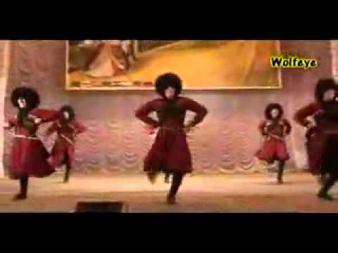 Chechen dance - Chechen Folk Dance - Vaynah.