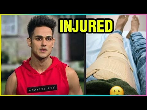 Ex Bigg Boss Contestant Priyank Sharma INJURED
