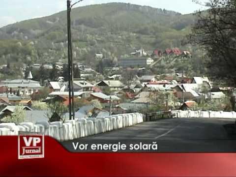 Vor energie solară…