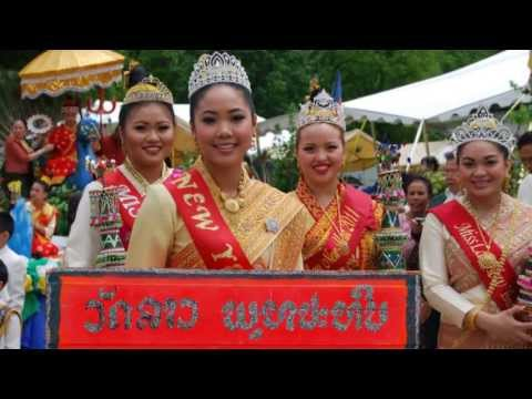 Lao new year festival 2013 #3 @ lao buddhapathip temple Nashville,TN