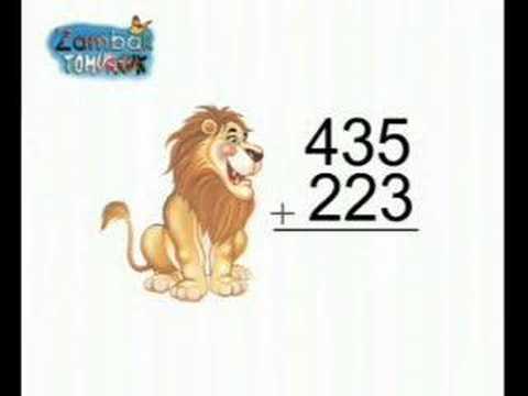 0 2. Sınıf Matematik Üç Basamaklı Sayılarda Eldesiz Toplama İşlemi