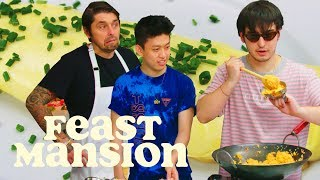 Video Joji and Rich Brian Get an Omelette Master Class from a French Chef | Feast Mansion MP3, 3GP, MP4, WEBM, AVI, FLV Oktober 2018