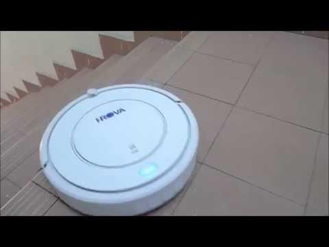 Robot Vacuum Cleaner Ultra Slim - iROVA KK8 (B)