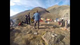 Øglegraverne Svalbard 2014 taking down the camp timelapse