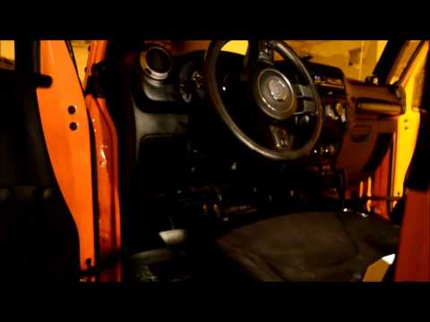 Tutorial: How to install speakers in the front of a Jeep JK - Use Dynamat and Polyfill!
