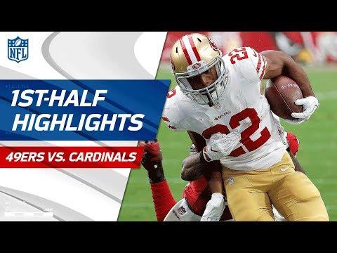 Video: 49ers vs. Cardinals First-Half Highlights   NFL Week 4