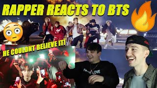 Video RAPPER REACTS TO BTS FOR THE FIRST TIME! SHADOW & MIC DROP download in MP3, 3GP, MP4, WEBM, AVI, FLV January 2017