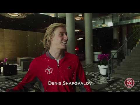 Canadian tennis fans... we got you a gift! Here's a special holiday message from none other than Milos Raonic, Denis Shapovalov and the rest of the Canadian ...