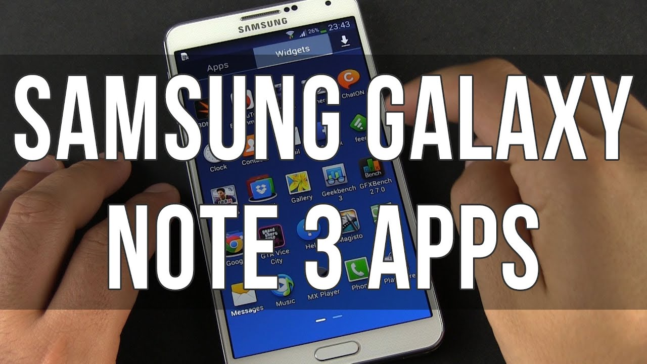 Descargar Top 7 Best Samsung Galaxy Note 3 apps – Must Haves! para Celular  #Android