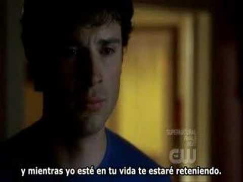 "Smallville 7x20 end of the season ""Lana say bye to Clark"""