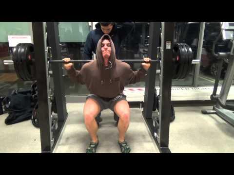 Crazy Leg workout – Natural Bodybuilder Pascal Haag