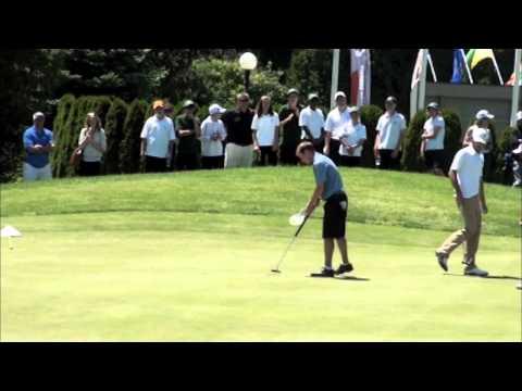2011 Canadian University/College Golf Championship – Final Hole (Men's)