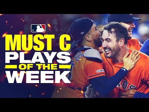 Video: Justin Verlander gets ANOTHER no-hitter | Must C Plays of the Week: 8/30-9/5