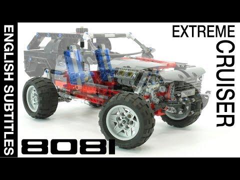 Best LEGO Technic car - 8081 Extreme Cruiser. MODs. Крутой обзор крутого набора с крутым Юрой!