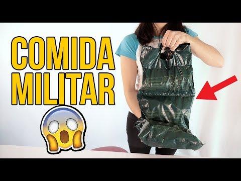 Videos caseros - Probando esta COMIDA MILITAR, ¿TÚ SERÍAS CAPAZ DE HACERLO?