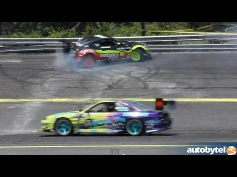 Track Cleaning At Formula Drift New Jersey