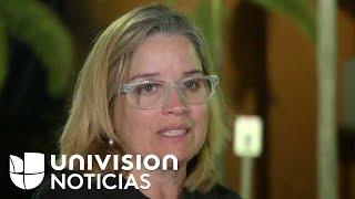 """""""Esto no es una broma"""": Alcaldesa de San Juan tras visita de Trump a Puerto Rico por María"""
