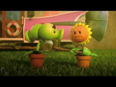 Plants Vs Zombies 2 Kung Fu World Animation Trailer Part 2