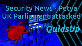 A busy week already for cyber security news, we have a new Wannacry-like ransomware hitting Europe called Petya, and a brute force password guessing attack has been reported against UK Parliament email system.Sources:http://www.telegraph.co.uk/news/2017/06/27/ukraine-hit-massive-cyber-attack1/http://www.bbc.co.uk/news/technology-40416611http://www.theregister.co.uk/2017/06/26/uk_parliamentary_email_compromised_after_sustained_and_determined_cyber_attack/http://www.theregister.co.uk/2017/06/26/parliament_email_hack/https://www.scmagazineuk.com/updated-uk-parliament-records-unauthorised-attempts-to-access-mp-accounts/article/670991/http://www.bbc.co.uk/news/uk-40394074http://www.parliament.uk/business/news/2017/june/lord-speaker-statement-26-june/