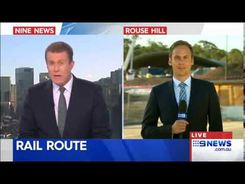 Sydney Science Park News Nth Sth Rail Link