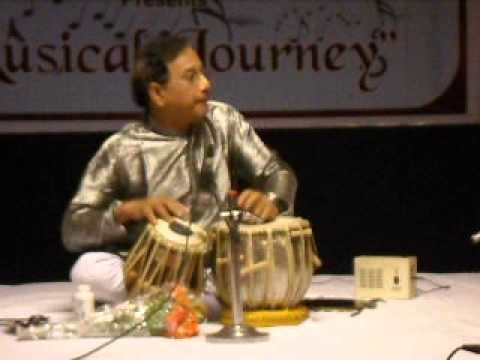 tabla gharana - Tabla by Timir Roy Chowdhury Lucknow Gharana Deciple of Khalifa Afaque Hussain Khan Part 1.