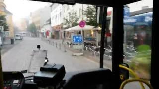 Offenburg Germany  City pictures : Tour in Offenburg , Germany through bus window