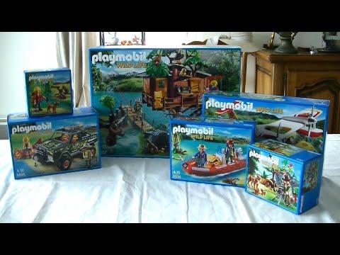 Unboxing Playmobil (fr) : Les aventuriers (2015) - 5557, 5558, 5559, 5560, 5561, 5562