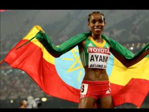 አዋዜ (ALEMNEH WASSE NEWS) Almaz Ayana's 5000 exploit at beijing still sensational. on KEFET.COM