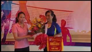 Giải bóng chuyền hơi lần thứ 2 Hội LHPN thành phố Uông Bí